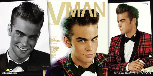 CHACE CRAWFORD IS THE VMAN
