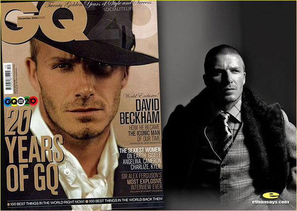 DAVID BECKHAM CELEBRATES GQ'S 20TH