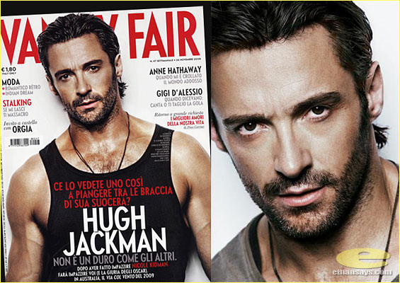 HUGH JACKMAN FOR VANITY FAIR ITALIA