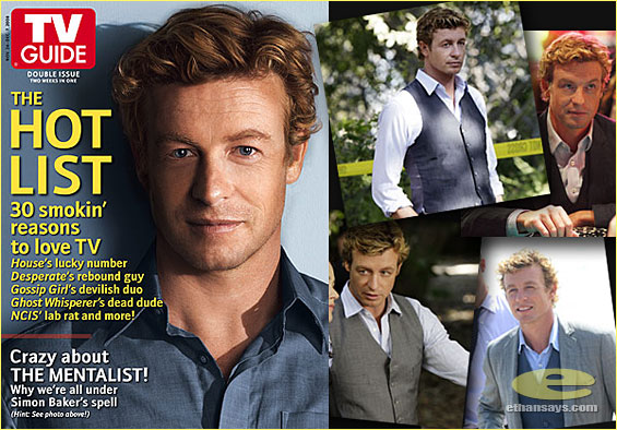 TV GUIDE IS CRAZY ABOUT SIMON BAKER