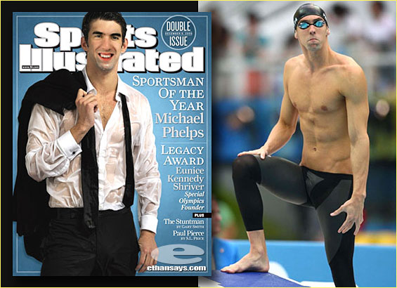 MICHAEL PHELPS IS SPORTSMAN OF THE YEAR