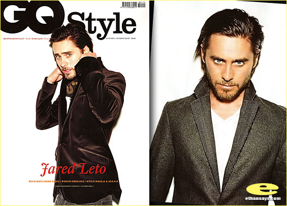 JARED LETO IS STYLIN' IN GQ ITALY