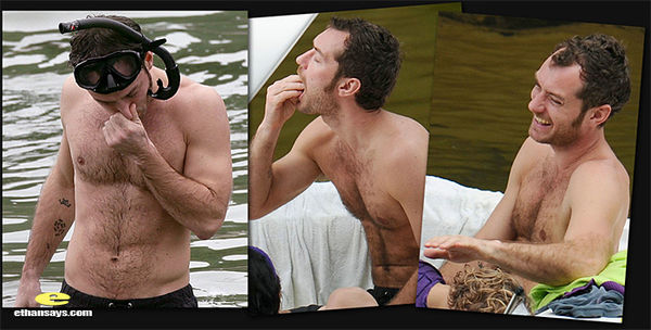 SHIRTLESS WEEKEND 1 : JUDE LAW