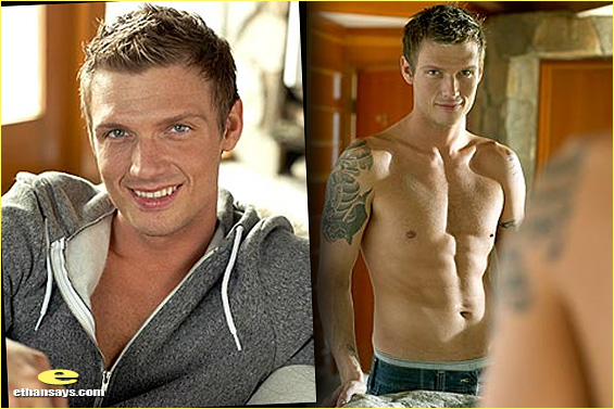 NICK CARTER IS LOVING LIFE - SHIRTLESS!