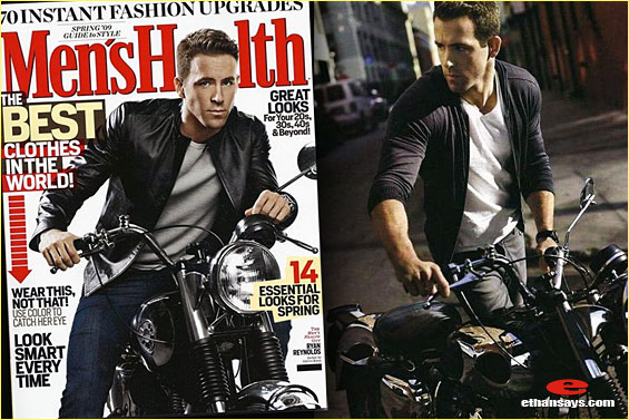 RYAN REYNOLDS RUNS WITH PURPOSE IN MEN'S HEALTH