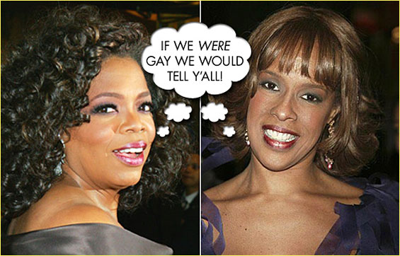 OPRAH COMING OUT GAY?
