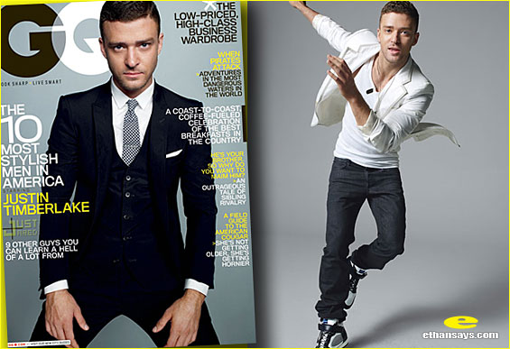JUSTIN TIMBERLAKE IS GQ'S MOST STYLISH MAN