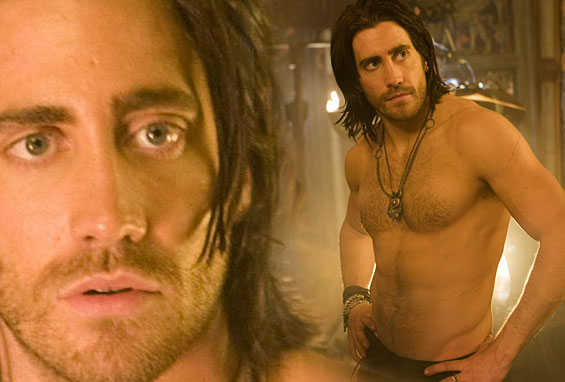 JAKE GYLLENHAAL: SHIRTLESS PRINCE OF PERSIA