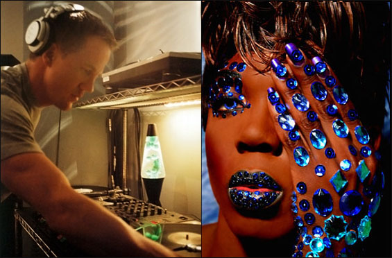 DJ MARK PICCHIOTTI AND RUPAUL'S DRAGSTAR BEBE ZAHARA BENET ON TOUR