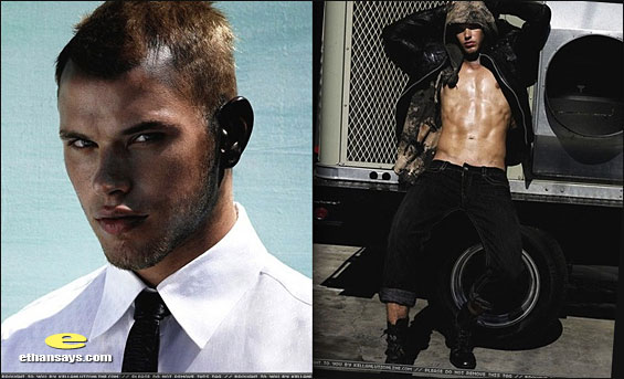 KELLAN LUTZ IS FLAUNT-ASTIC