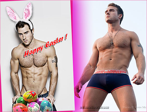 HOPPY EASTER FROM BRYAN DAVID THOMAS