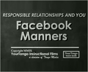 MIND YOUR FACEBOOK MANNERS