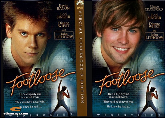 CHACE CRAWFORD IS FOOTLOOSE