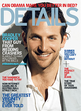 BRADLEY COOPER COVERS DETAILS