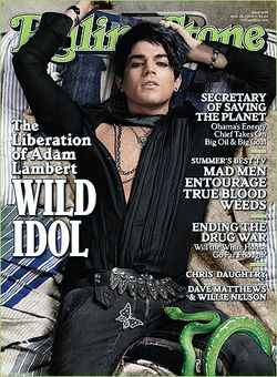 ADAM LAMBERT IS LIBERATED IN ROLLING STONE
