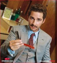SHIA LABEOUF ON PARADE