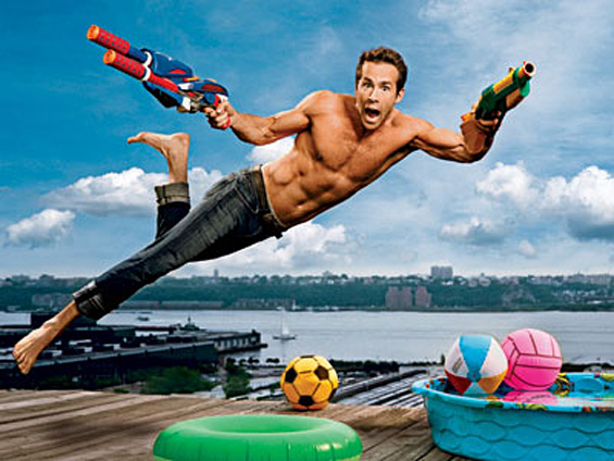 RYAN REYNOLDS IS A SUMMER MUST