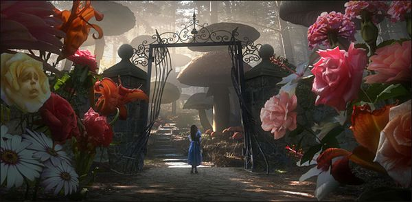 TIM BURTON'S CONCEPT OF ALICE IN WONDERLAND
