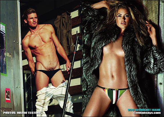 V59 SWIMSUIT ISSUE IS TESTINO HOT