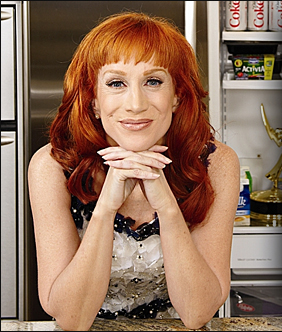 KATHY GRIFFIN'S LIQUID DIET