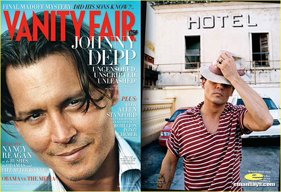 VANITY FAIR TAKES A TRIP WITH JOHNNY DEPP
