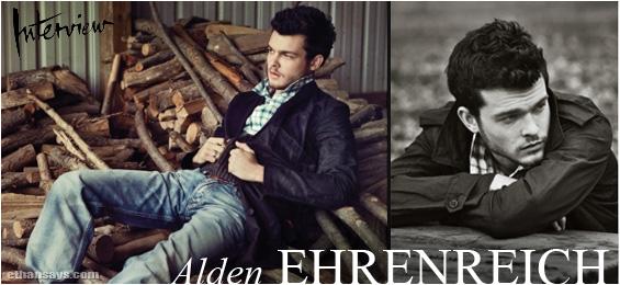 ALDEN EHRENREICH INTERVIEW