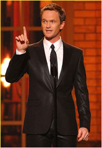 NEIL PATRICK HARRIS HOSTING EMMY AWARDS