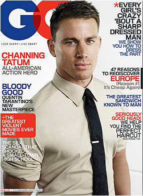 CHANNING TATUM FOR GQ MAGAZINE 8.09