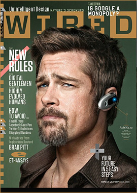 BRAD PITT IS WIRED