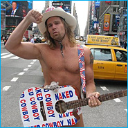 Naked Cowboy Running For NYC Mayor