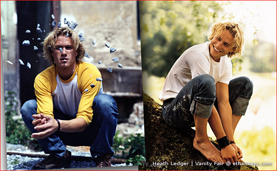 VANITY FAIR REMEMBERS HEATH LEDGER