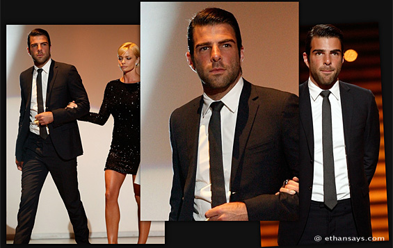 ZACHARY QUINTO IS ESPY SLICK