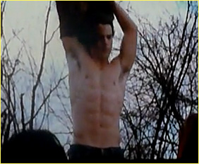 New Moon Shirtless Clips from Comic-Con