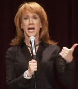 Kathy Griffin Confronts Homophobia