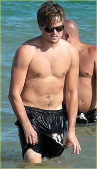 Leonardo DiCaprio is Shirtless in Ibiza
