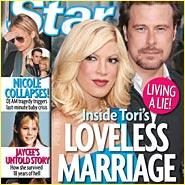 Tori  Spelling's Loveless Marriage