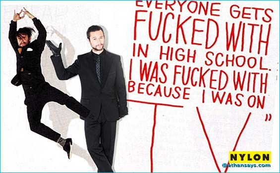 Joseph Gordon Levitt is on Nylon's Radar
