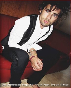 Tyson Ritter is Pre-Video Awards Sexy