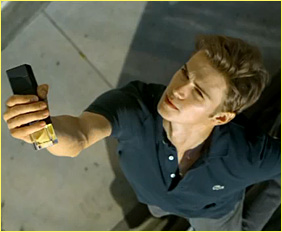 Hayden Christensen is Up for the Lacoste Challenge