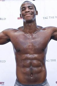Mehcad Brooks is a Shirtless, Sweaty Triathelete