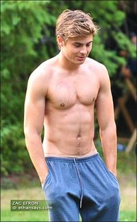 Zac Efron: Shirtless, Chasing Geese, and Doing Push-Ups