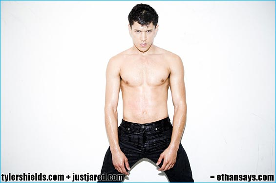 Alex Meraz Rips Off His Shirt for Tyler Shields