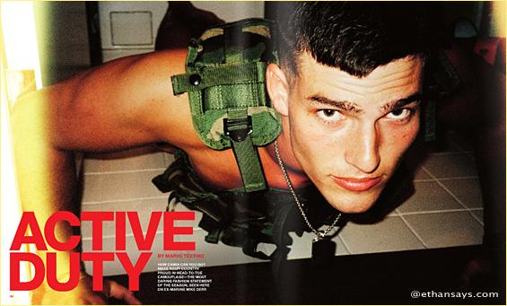 Mario Testino: Active Duty