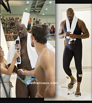 Michael Phelps vs Shaq-mu