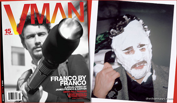 James Franco by Franco for VMAN