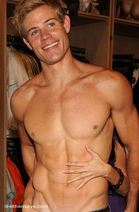 Trevor Donovan is Shirtless...Again