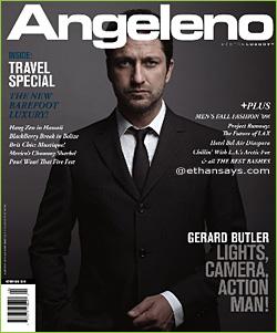 Gerard Butler Angeleno Magazine