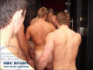 SHU Rugby 2010 Nude Calendar