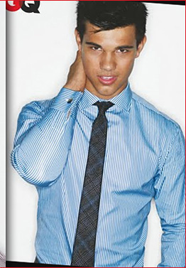 Taylor Lautner Shows Sixpack for GQ