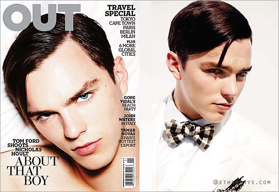 Nicholas Hoult - Out Magazine